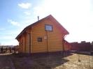 Дом-баня из профилированного бревна в Тверской обл. :: Дом-баня из профилированного бревна диаметром 240 мм.