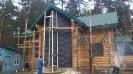 Дом из профилированного бревна диаметром 240 мм