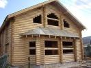 Дом из оцилиндрованного бревна в Твери