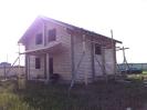 Дом из профилированного бревна диаметром 220 мм