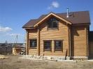 Дом из оцилиндрованного бревна в Тверской обл. :: Дом из оцилиндрованного бревна диаметром 220 мм