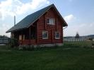 Дом из оцилиндрованного бревна в Тверской обл. :: Дом из профилированного бревна диаметром 240 мм