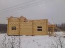 Дом из профилированного бревна диаметром 240 мм.