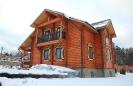 Дом из оцилиндрованного бревна в Тульской обл. :: Дом из оцилиндрованного бревна диаметром 240 мм