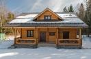 Дом из оцилиндрованного бревна в Калужской обл. :: Дом из оцилиндрованного бревна диаметром 240 мм
