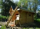Купель из профилированного бревна в Калужской обл. :: Купель из профилированного бревна